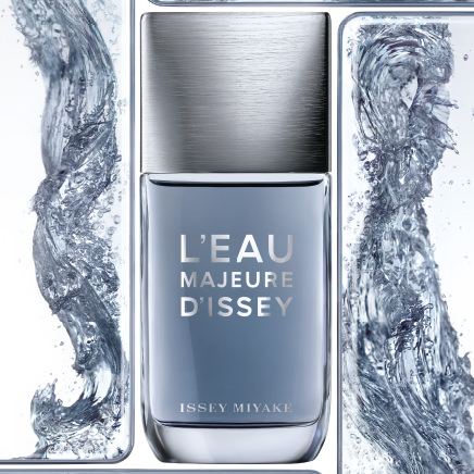 The power of L'Eau Majeure by Issey Miyake according to Mazarine