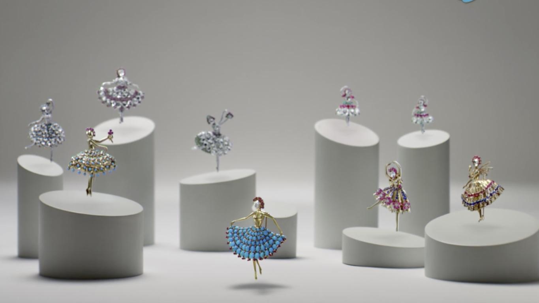 Van Cleef & Arpels  芭蕾珍藏系列,登临中国